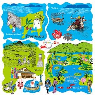 風呂敷 香川の観光地 ふろしき