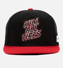 CAP KILL ALL TIRES BLACK/RED