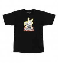 T-SHIRT HORNS FOR HOONIGAN BLACK