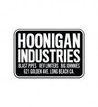 "STICKER SHOP ""HOONIGAN INDUSRIES"