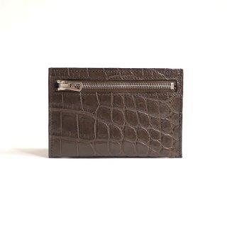 【LIMITED】ALAN COIN & CARD WLT / CROCO