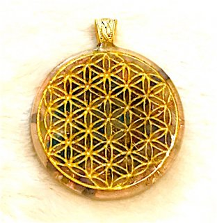 ORGONITE Space Medal Pendant 003
