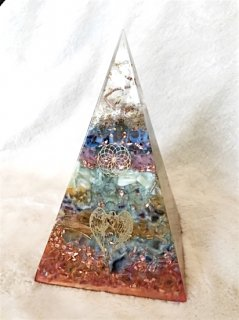 ORGONITE Space Pyramid Object M 001
