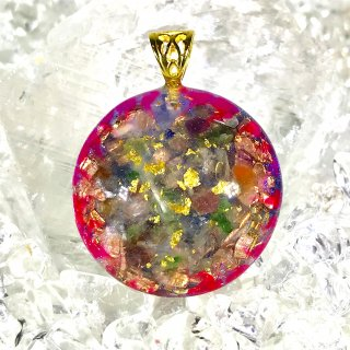 ORGONITE Space Peace Pendant 03