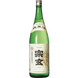 宗玄 純米酒 (ソウゲン)/宗玄酒造 1800ml 【石川】