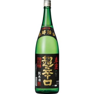 春鹿 純米酒 超辛口 (ハルシカ)/今西清兵衛商店 1800ml 【奈良】