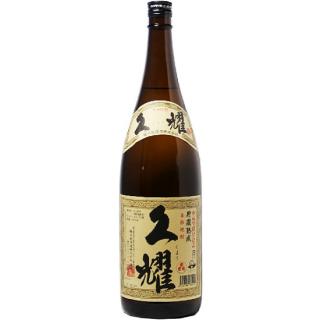 芋焼酎 「久耀」 25°貯蔵古酒 1800ml