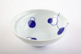 お鍋の取り皿 Cacomi -かこみ - 【水玉・青】