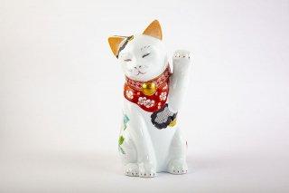 招福猫 miw - みゅう -【椿絵・親】