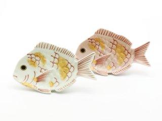 金叩き紅鯛・白鯛【銘々皿】ギフトセット・専用化粧箱入