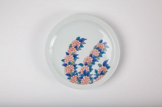 其泉色鍋島 和皿(小手毬)