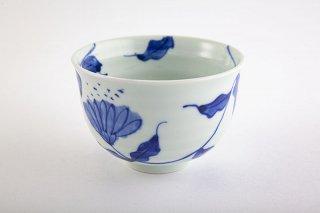 染付唐草 ミニ麺鉢
