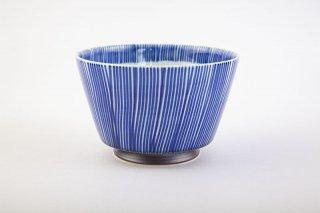 染付十草 麺鉢