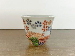 【たなかふみえ】桜柴垣 反煎茶[2点限り]