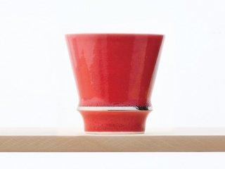 匠の蔵 至高の焼酎グラス 【賞美堂オリジナル柄 深紅】