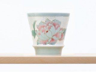 匠の蔵 至高の焼酎グラス 【賞美堂オリジナル柄 雅(ブルー)】