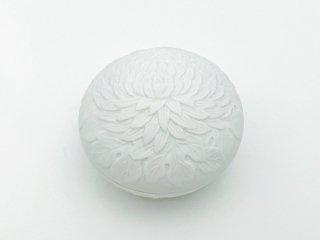 菊彫 蓋物