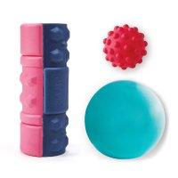 筋膜リリースストレッチ3点セット(グリグリもちもちローラー/ボール/コアボール)【ギフト対応】