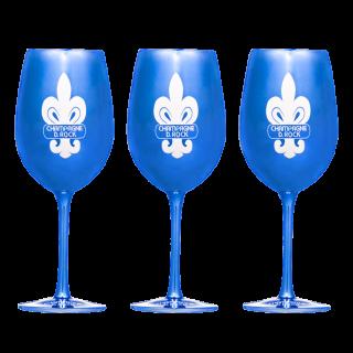 D.ROCK Original Glass Blue 3脚セット