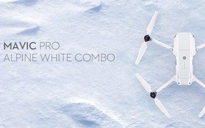 MAVIC PRO ALPINE WHITE COMBO