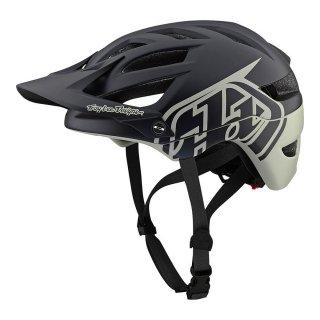 Troy Lee Designs [A1 Helmet Mips 2019] Classic Black Stone MD/LG