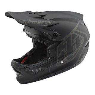 Troy Lee Designs [D3 Fiberlite Helmet]MONO Black Lサイズ