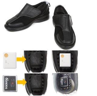 GPS内蔵可能靴 うららかGPSウォークⓇ