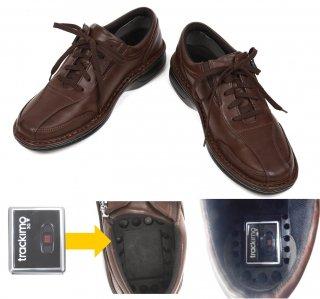 GPS内蔵可能靴 GPSウォークZ(紐靴タイプ)