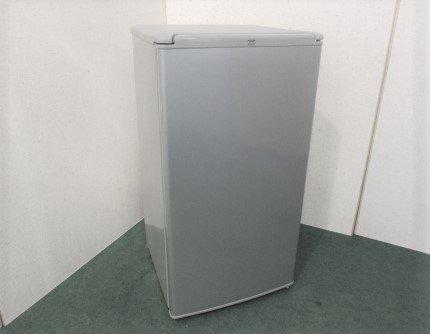 2015年製 AQUA ノンフロン直冷式冷蔵庫 AQR-81C(S) シルバ—