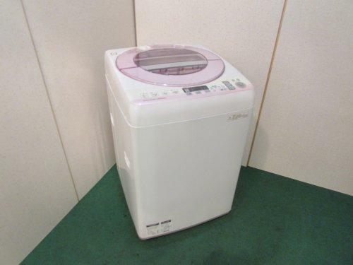 2015年製 シャープ 全自動洗濯機 ES-GV80P-P