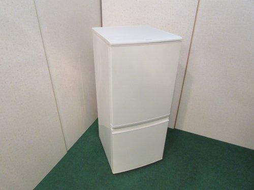 2016年製 シャープ ノンフロン冷凍冷蔵庫 SJ-D14B-W