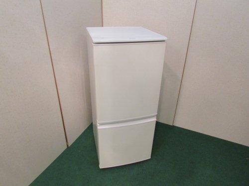 2014年製 シャープ ノンフロン冷凍冷蔵庫 SJ-14Y-W