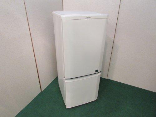 2015年製 三菱 ノンフロン冷凍冷蔵庫 MR-P15EY-KB