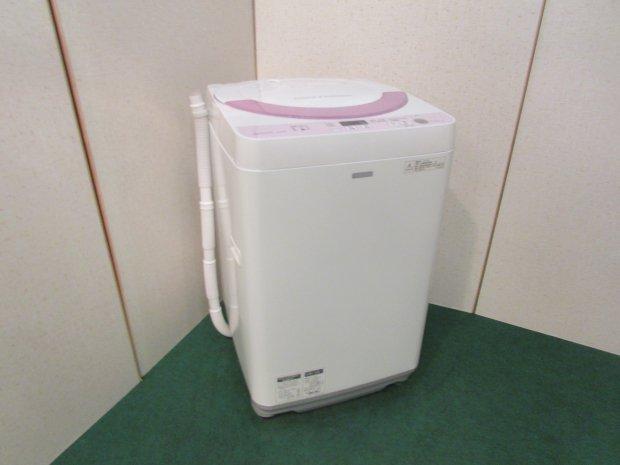 2016年製 シャープ 全自動洗濯機 ES-G55RC-P