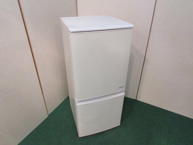 2016年製 シャープ ノンフロン冷凍冷蔵庫 SJ-C14B-W