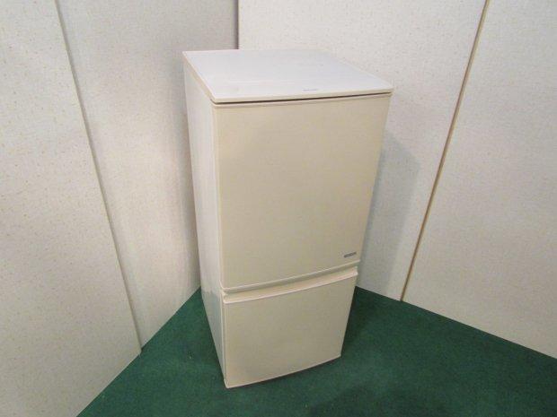 2014年製 シャープ ノンフロン冷凍冷蔵庫 SJ-C14A-C