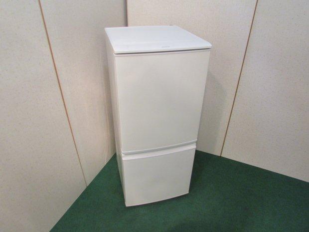 2014年製 シャープノンフロン冷凍冷蔵庫 SJ-14Y-W