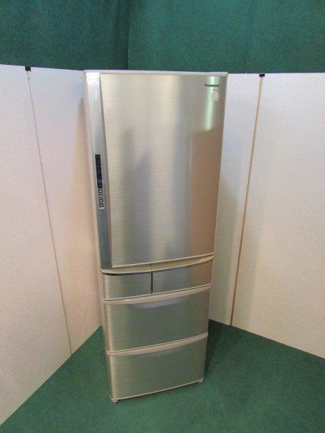 2009年製 パナソニック ノンフロン冷凍冷蔵庫 NR-E433T-N形