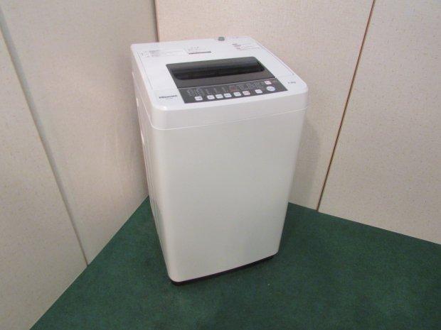 2016年製 ハイセンス 全自動洗濯機5.5kg HW-T55A