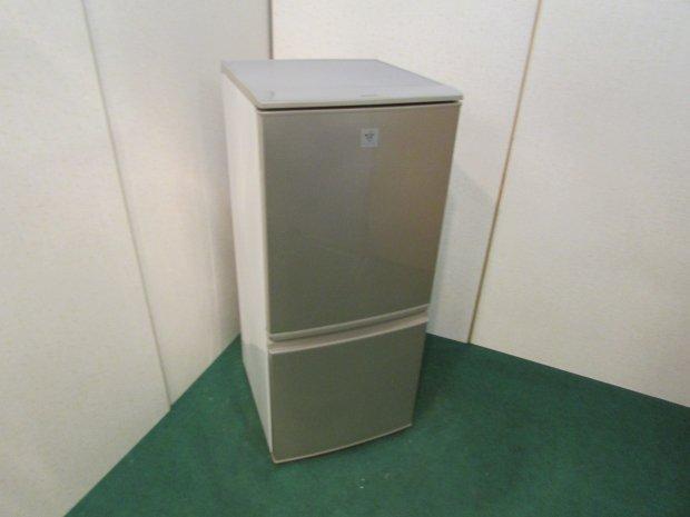 2014年製 シャープ ノンフロン冷凍冷蔵庫 SJ-PD14Y-N