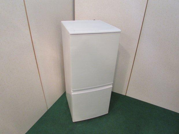 2013年製 シャープ ノンフロン冷凍冷蔵庫 SJ-14X-W