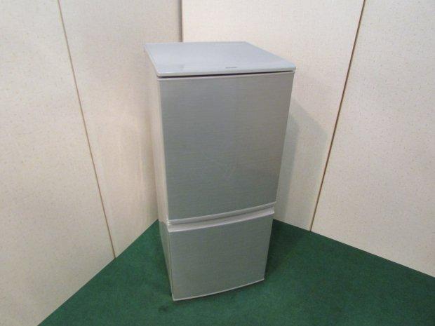 2016年製 シャープ ノンフロン冷凍冷蔵庫 SJ-D14B-S