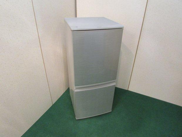 2015年製 シャープ ノンフロン冷凍冷蔵庫 SJ-D14A-S