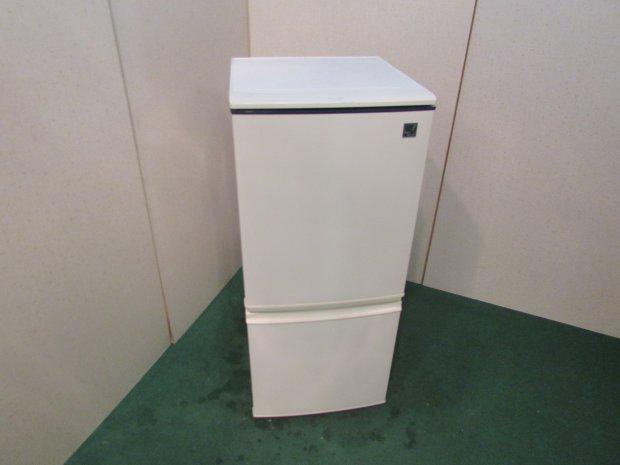2013年製 シャープ ノンフロン冷凍冷蔵庫 SJ-14E9-KB