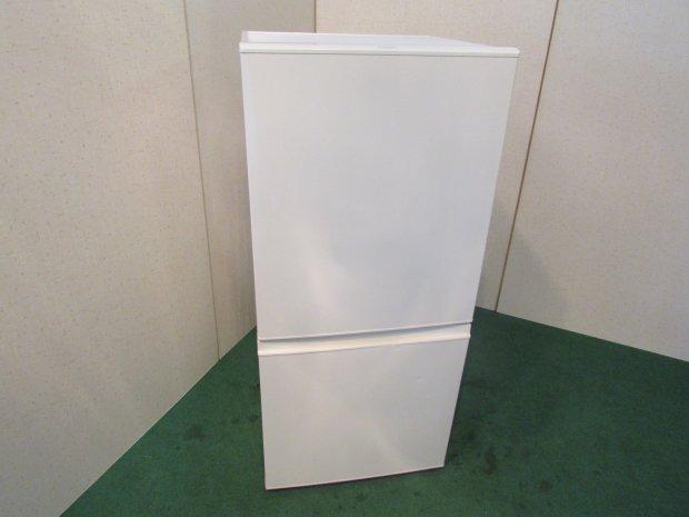 2015年製 アクアノンフロン冷凍冷蔵庫 AQR-16D(W)