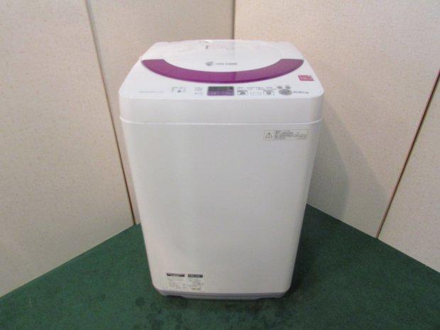 2014年製 シャープ全自動電気洗濯機5.5� ES-55E9-KP