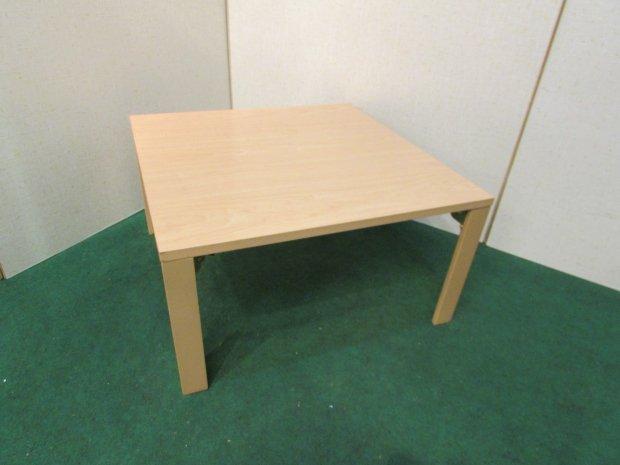 ニトリ センターテーブル メープル(木目調) 折りたたみ式