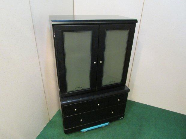 マルニ 食器棚 ブラック