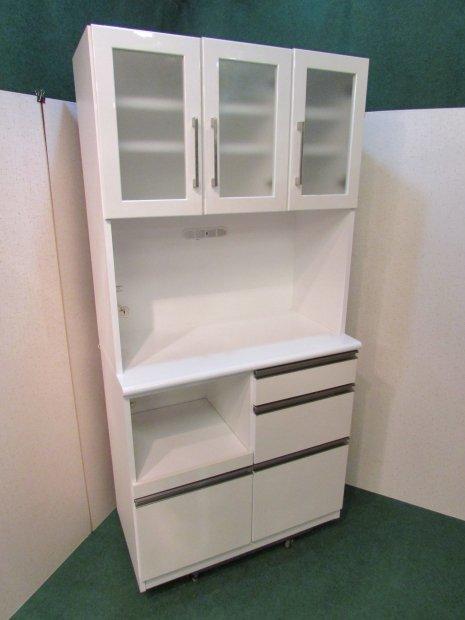 食器棚 ホワイト
