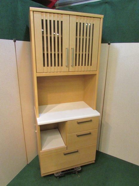 ニトリ 食器棚 メープル